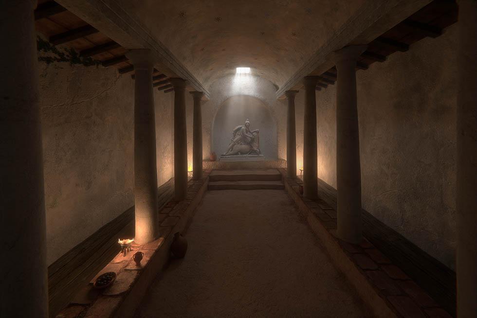London Mithraeum 3D